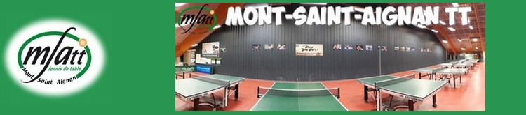 le site web de MSA Tennis de Table